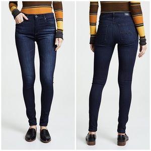 AG Jeans The Farrah Skinny High Rise